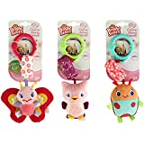 Bright Starts Chime Along Friends Take-Along Toys-Styles Will Vary Assortment of 3, Each Sold Separately