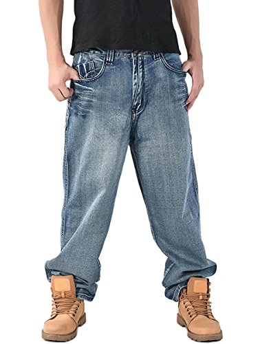 Loose Baggy Jeans - 5