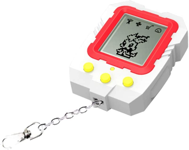 WANGYUMI Mini Electronic Pets Toys with Keychain 90S 9 Pets in One Virtual Cyber Funny for Kids Adults