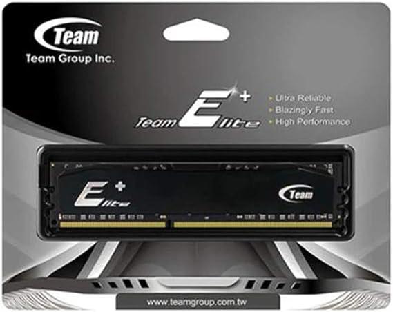 TEAM TPD34G1600HC1101 ELITE+ 4GB Black Heatsink: Amazon.co.uk: Electronics