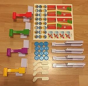 Erweiterungsset für Looping Louie 8 Spieler inkl. Adapter für 8 Personen...