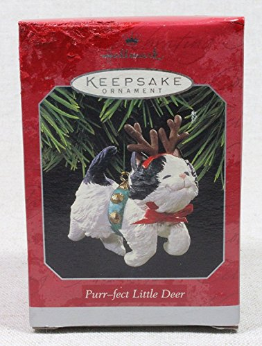 HALLMARK KEEPSAKE ORNAMENT PURR-FECT LITTLE - Stores City Mall Capital