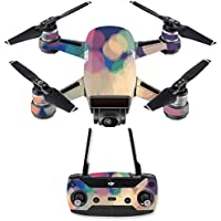 Skin for DJI Spark Mini Drone Combo - Focus| MightySkins Protective, Durable, and Unique Vinyl Decal wrap cover | Easy To Apply, Remove, and Change Styles | Made in the USA