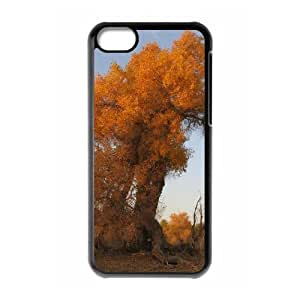 YCHZH Phone case Of Desert Populus Cover Case For Iphone 5C