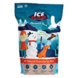 REDMOND Ice Slicer - Ice Melt Salt, Kid & Pet Safe Deicer, All-Natural Granular Ice Melt 10 Lb Bag