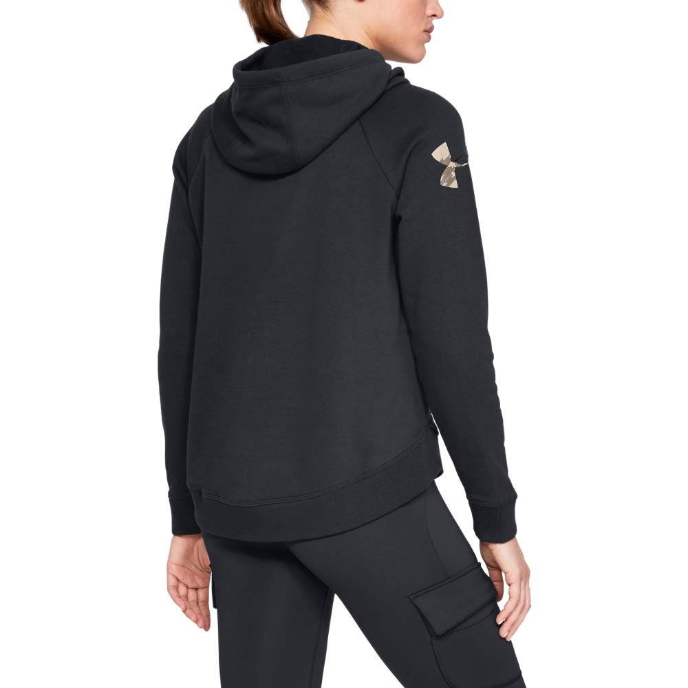 Under Armour Womens Favorite Fleece Camo Logo Pullover Hoodie