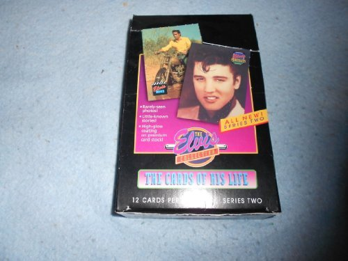 ELVIS THE CARDS OF HIS LIFE SERIES 2 TRADING CARDS 36 COUNT BOX