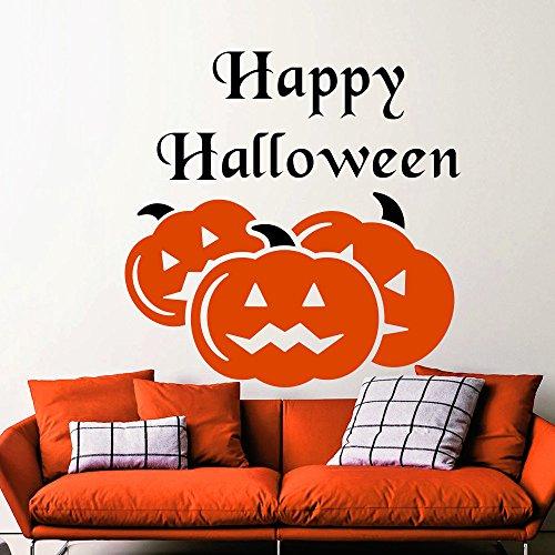 43SabrinaGill Wall Decals Halloween Decals Pumpkin Decals Vinyl Kids Room Bedroom Decor Halloween Holidays Decorations Art Home Ideas Interior Design 38