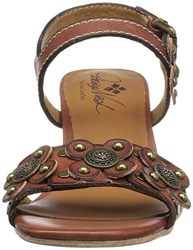 Coach Womens Indi Open Toe Casual Ankle Strap Sandals, Brown, Size - Indi Brown