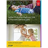 Adobe Photoshop Elements 2018 & Premiere Elements 2018 Student and Teacher