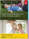 Adobe Photoshop Elements 2018 & Premiere Elements 2018 | STE | PC/Mac | Disc