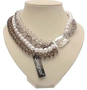 Diseño de cuentas de collar con colgante en forma de incienso DesignSix Dsix105 BX1-3