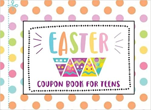 easter coupon book for teens tweens 25 blank coupon book with full