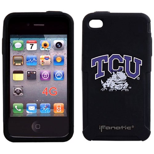 NCAA Texas Christian Horned Frogs Mascotz Cover for iPhone 4