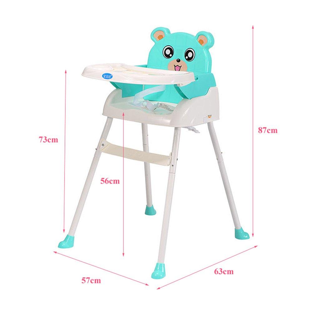 4 en 1 chaise haute pliable pour nourriture b b chaise. Black Bedroom Furniture Sets. Home Design Ideas