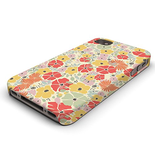 Koveru Back Cover Case for Apple iPhone 4/4S - Flower Poster
