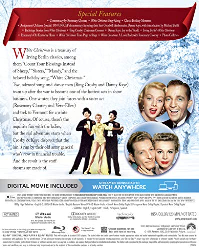 White Christmas (Blu-ray + Digital)