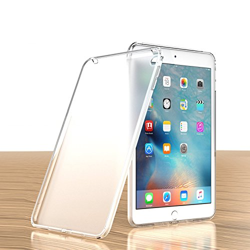 iPad Mini 4 Case, Cocomii Liquid Armor NEW [Crystal Clarity] Premium HD Clear Anti-Yellow Anti-Scratch Shockproof Hard Bumper [Slim Fit] Full Body Lightweight Transparent Cover Apple (Matte (Curve Crystal Case)