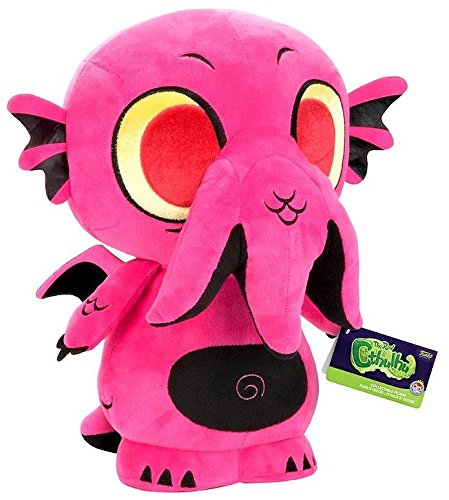 "SuperCute Plush: 12"" The Real Cthulhu Goth Pink Exclusive Toys R Us"