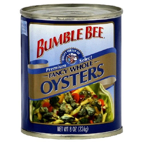 Bumble Bee Oysters Whole