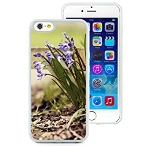New Beautiful Custom Designed Cover Case For iPhone 6 4.7 Inch TPU With Roadside Purple Flower Cluster (2) Phone Case