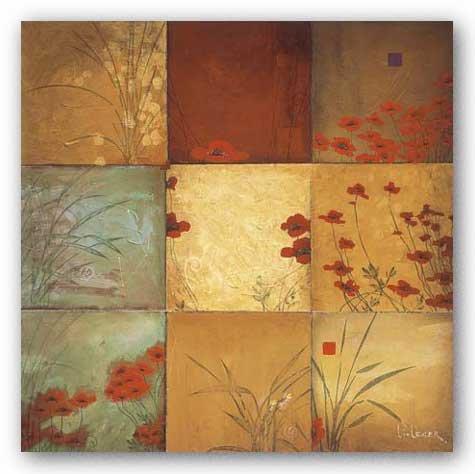 Poppy Nine Patch by Don Li-Leger 19.75