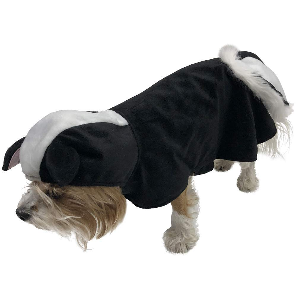 Small Skunk Costume for Small Dogs (Small)