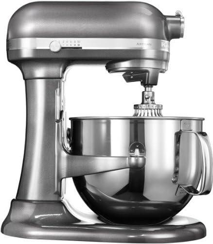 KitchenAid 5KSM7580XEMS Robot de cocina, 500 W, Acero Inoxidable, 10 Velocidades, Plata: Amazon.es: Hogar