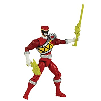 Power Rangers Dino Charge 12.5 cm Red Ranger Action Figure: Amazon ...