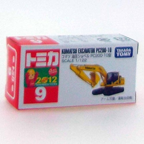 Tomica No.9 Komatsu Power Shovel PC200-10