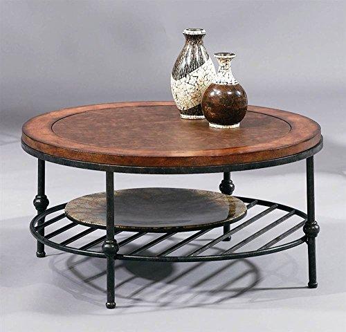 Buy Antiqued Glass Coffee Table Gun Metal Base At Fusion: Metal Coffee Tables & Cocktail Tables