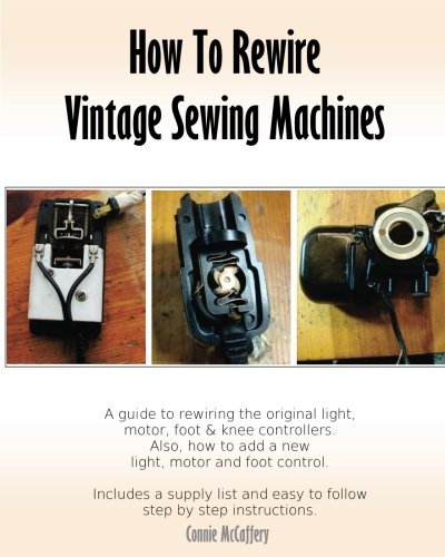 How Rewire Vintage Sewing Machines product image