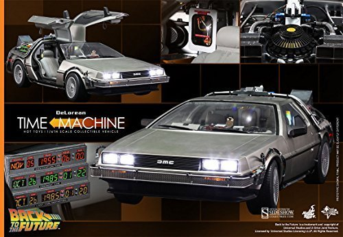 Hot Toys Back to the Future Part 1 DeLorean Time Machine 1/6 Scale Vehicle