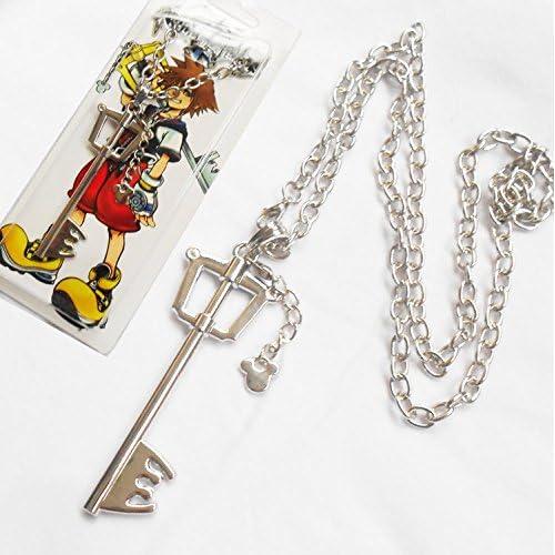 Sunkee Kingdom Hearts Collier avec pendentif Mickey Grand Clé (B)