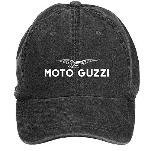 Chengxingda Moto Guzzi Logo Cotton Washed Baseball Cap