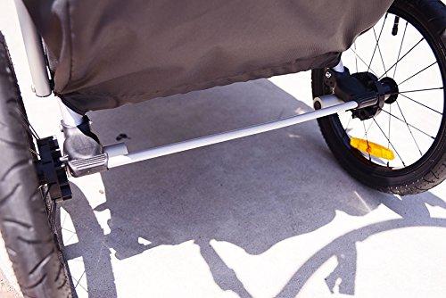 Allen Sports JTX-1 Trailer/Swivel Wheel Jogger, Green by Allen Sports (Image #8)