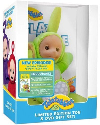 Teletubbies: Play Time DVD with Dipsy Plush Toy ()
