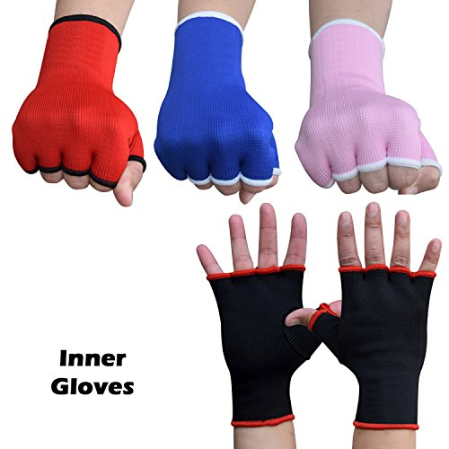 AKRON Inner Hand Wraps MMA Muay Thai Fight Training Bag Gloves Punch Boxing Karate UFC