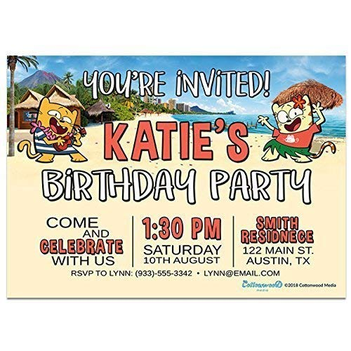 Amazon Hawaii Destination Ollie And Moon Birthday Party
