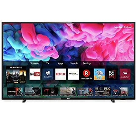 Philips 43 Inch 43PUS6503 Smart UHD LED TV with HDR  Amazon.co.uk   Electronics ec6b7db833a8