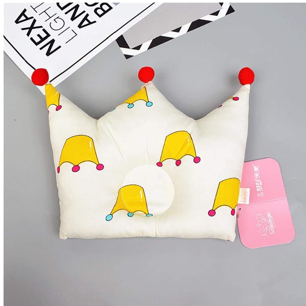 Corona A Forma Di Cuscino Del Fumetto Bambini Morbido Cotone Shaping Cuscini Per Il Neonato A Testa Piatta Infant Confortevole Cuscino