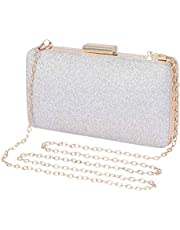 Selighting Glitter Clutch Evening Bags for Women Formal Bridal Wedding Clutches Purse Prom Cocktail Party Handbags