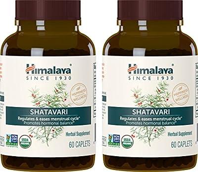 Himalaya Organic Shatavari for Menstrual Regulation and Hormonal Balance