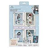 Santoro Gorjuss Christmas Collectable Rubber Stamps Set, Multicolour, One Size
