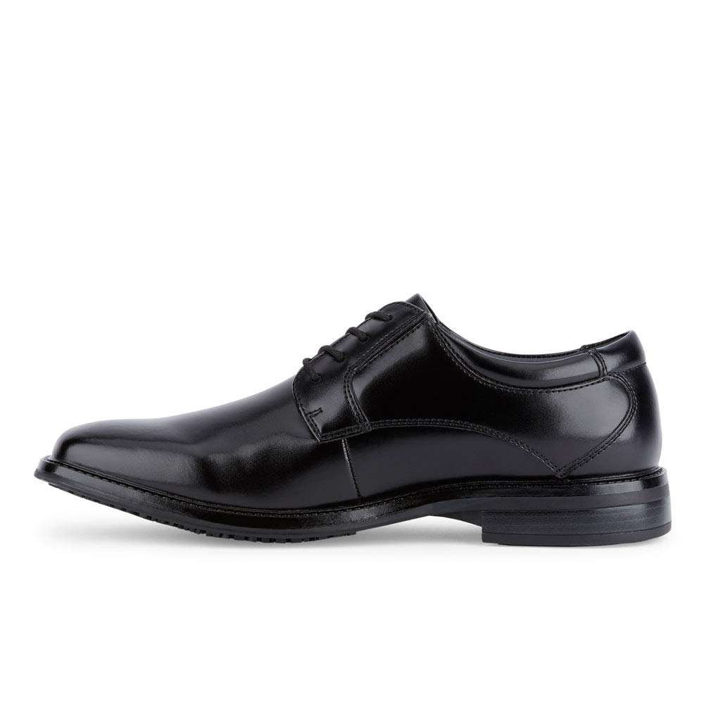 Dockers Mens Irving Slip Resistant Work Dress Oxford Shoe Black 10 W
