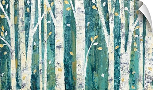 Apple Purinton (Canvas on Demand Julia Purinton Wall Peel Wall Art Print entitled Birches in Spring 60