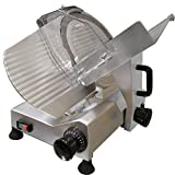 Chicago Food Machinery cfm-10 Deli Meat Slicer, Stainless Steel, 10''