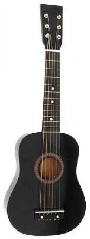 Directly Cheap 6 String Acoustic Guitar, Black (000-BT-GA2300-BK)
