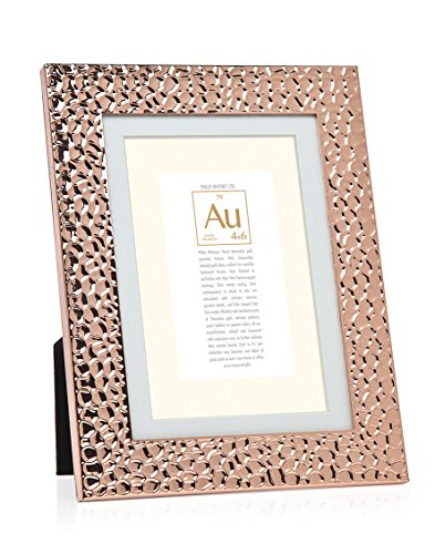 philip whitney pw 5x7 4x6 rose gold hammered picture frames olivia decor decor for your. Black Bedroom Furniture Sets. Home Design Ideas