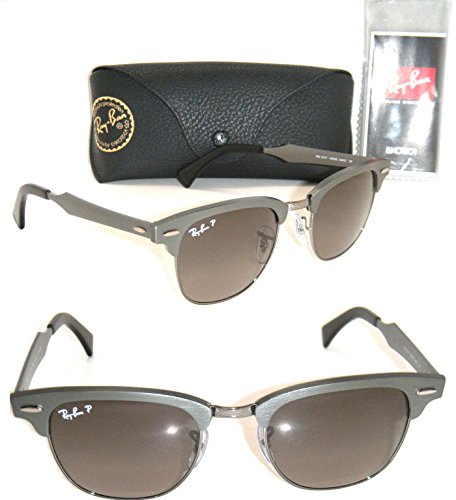 79084e4bec5 Ray-Ban Clubmaster Aluminum RB 3507 138 m8 49mm Brushed Gunmetal ...